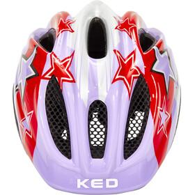 KED Meggy II Helmet Kids Purple Stars